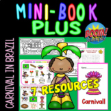 Carnival in Brazil Minibook plus 5 resources /Holiday Series
