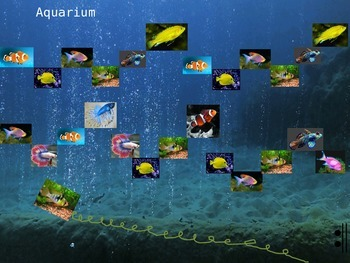 Carnival of the Animals Aquarium Listening Map