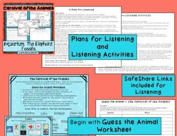 Carnival of the Animals: Aquarium, The Elephant, Fossils ...