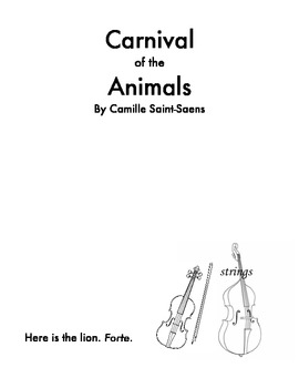 Carnival of the Animals Book