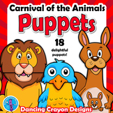 Carnival of the Animals Craft Activity | Camille Saint Saens | Paper Bag Puppet