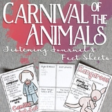 Carnival of the Animals Listening Journal & Fact Sheets
