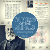Carnival of the Animals: Listening Work Book