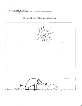 Carnival of the Animals Listening Worksheet