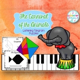 Carnival of the Animals - Listening with Tangrams