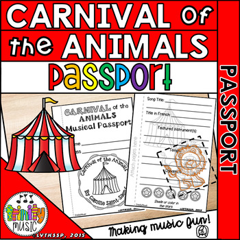 Carnival of the Animals Musical Passport