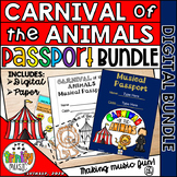 Carnival of the Animals Passport BUNDLE   Distance Learning