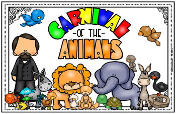 Carnival of the Animals - Poster Visual LARGE POSTER LEDGER (11X17) SIZE