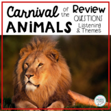 Carnival of the Animals, Saint-Saens - Review Questions wi