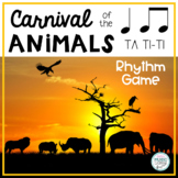 Carnival of the Animals (Saint-Saens) Themed Rhythm Game -
