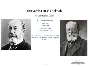 Music Unit: Carnival of the Animals Saint-Saens Unit