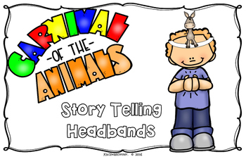 Carnival of the Animals Story Telling Headbands - LARGE POSTER LEDGER SZ (11X17)
