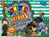 """Carnival of the Animals: Ultimate """"Clip It"""" Listening Acti"""
