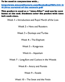 Carnival of the Animals Unit Lesson Plan Pack