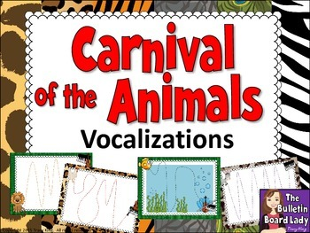 Carnival of the Animals Vocal Explorations