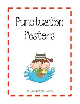 Carnival/Amusement Park - Punctuation Posters