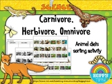 carnivores herbivores omnivores cut and paste teaching resources teachers pay teachers. Black Bedroom Furniture Sets. Home Design Ideas