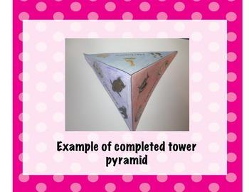 Carnivore, Herbivore, and Omnivore Interactive Pyramid Foldable