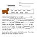 Carnivore, Herbivores, and Omnivores Packet!