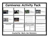 Carnivores Activity Pack