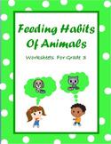 Carnivores, Herbivores & Omnivores , Food Chain & Animal Feeding Habits