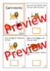 Carnivores Interactive Adapted Biology Books, 2 levels, Au