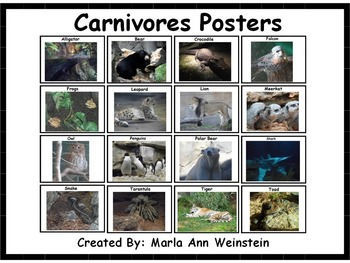 Carnivores Posters
