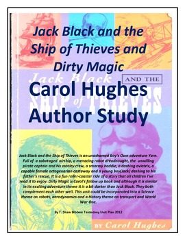 Dirty Magic and Jack Black and the Ship of Thieves Carol Hughes Author Profile