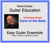 Carol of the Bells - Christmas Guitar Ensemble, Guitar Trio