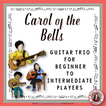 Christmas Music: Carol of the Bells Guitar Trio.
