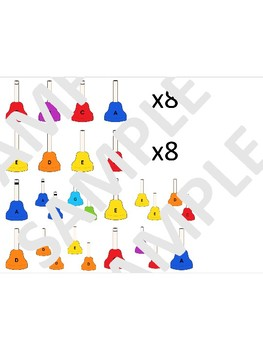Carol of the Bells - for extended 15 note hand bell set