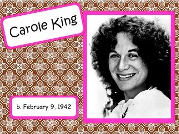 Carole King: Musician in the Spotlight