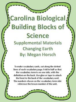Carolina Biological Changing Earth