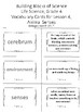 Carolina Biological Grade 4 Plant and Animal Structures, Vocabulary 4