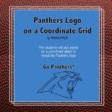 Carolina Panthers Logo on the Coordinate Plane