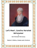 Caroline Herschel: Astronomer!(Reading Activity)Women's History