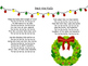 Caroling: Christmas/Holiday Song Lyrics Sheets