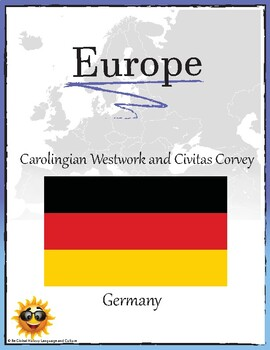 (EUROPE GEOGRAPHY)Carolingian Westwork and Civitas Corvey Germany Research Guide