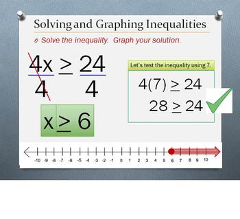 Carolyn Counts: Interactive, Step-by-Step PPT: Solving Inequalities