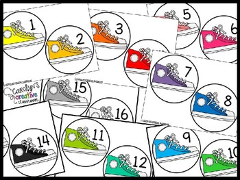 Carolyn's Editable Line Up Dots - Line Up Tool - Line Up Numbers