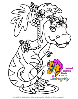 Carousel Animals Coloring Sheets - Vol. 4 - Carnival/Zoo (8 Fun Coloring Pages!)