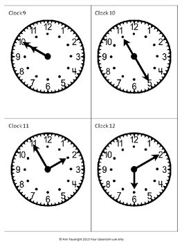 Carousel Clocks for active learning