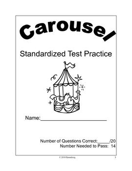 Carousel Standardized Test Practice