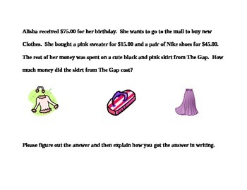Carouseling Word Problems