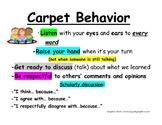 Carpet Behavior Expectations