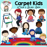 Carpet Kids Clip Art