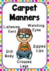 Carpet Manners Poster