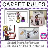 Carpet Rules Social Story