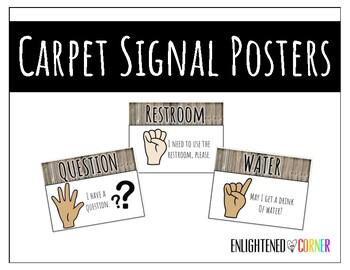 Carpet Signals - Rustic