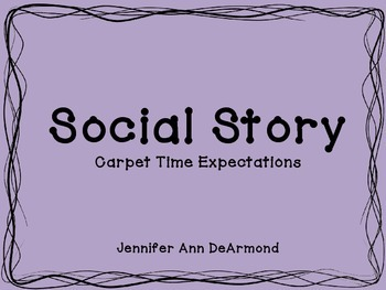 Social Story: Carpet Time